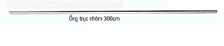 Trục nhôm treo phông 3m