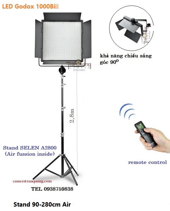 Bộ đèn LED Godox 1000C