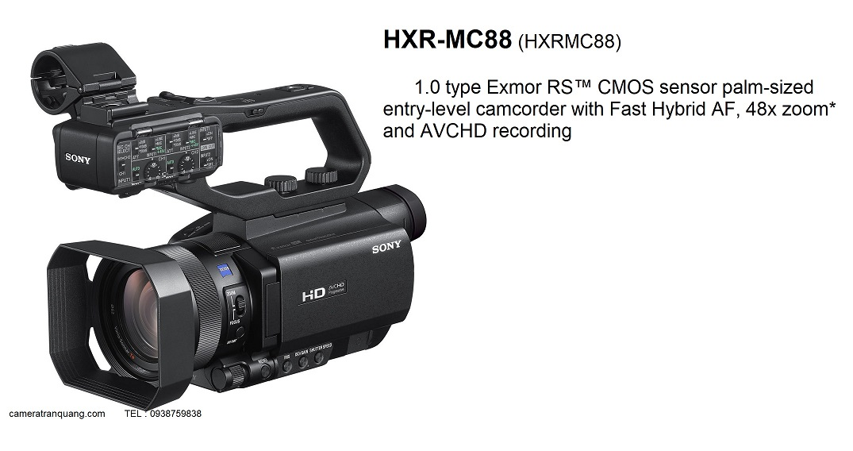 Máy quay  SONY HXR-MC88