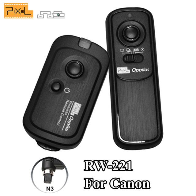 Remote Chụp ảnh  RW221 Canon bán chuyên DSLR