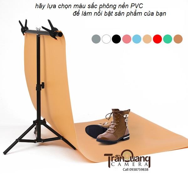 Phông màu PVC 68x130cm