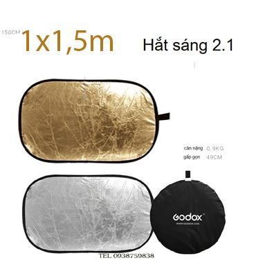 Hắt Sáng Bầu dục  1.5x2m