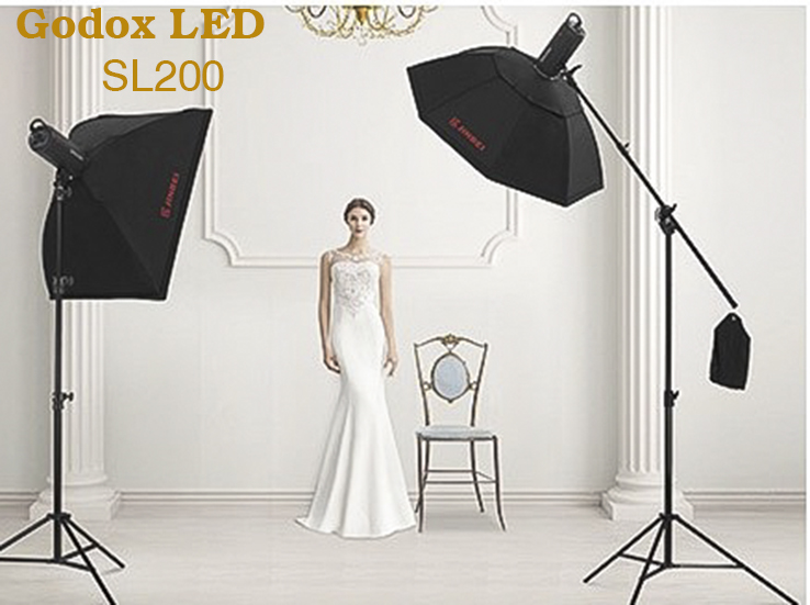 Bộ softbox LED Studio GODOX SL200