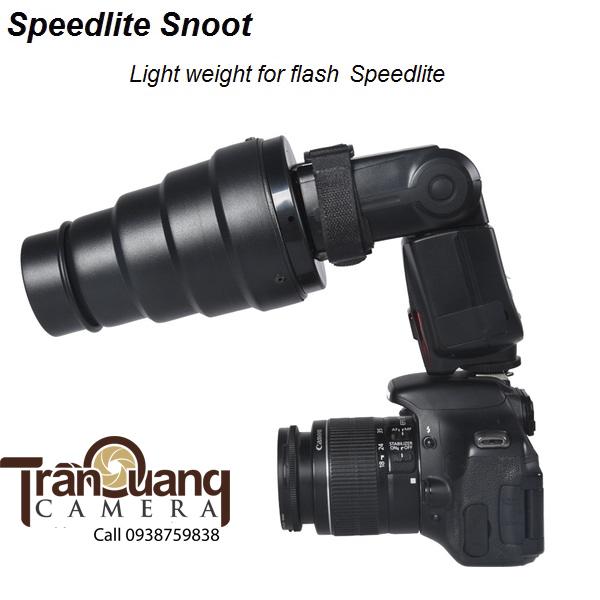 Snoot Flash speedlite
