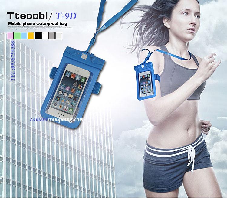 T-9D: Túi chống nước iphone4s /iphone5/HTC