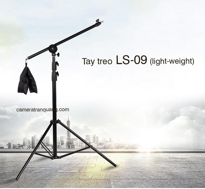 Tay treo đèn & thiết bị chụp hình LS-09